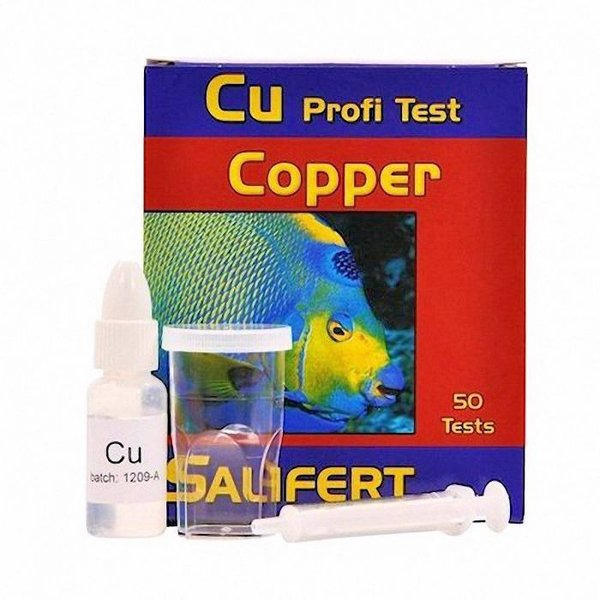 Salifert Copper Cu profi test